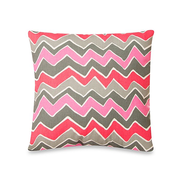 Alternate image 1 for Glenna Jean Addison Zig Zag Stripe Pillow