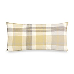 Glenna Jean Brea Plaid Rectangular Throw Pillow in Citrine