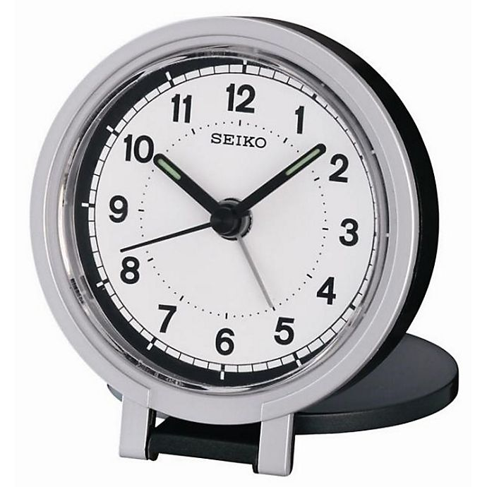 Seiko Round Travel Og Alarm Clock