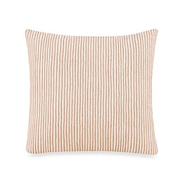 Glenna Jean Cape Town Stripe Square Throw Pillow in Tan