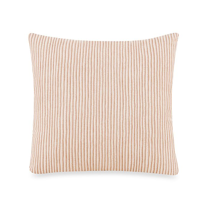Alternate image 1 for Glenna Jean Cape Town Stripe Square Throw Pillow in Tan