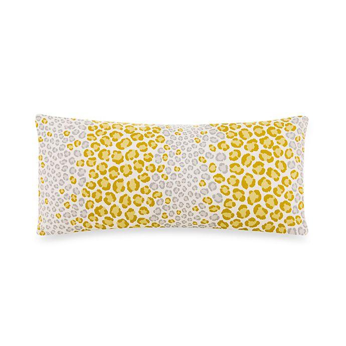 Alternate image 1 for Glenna Jean Cape Town Cheetah Rectangular Throw Pillow in Green