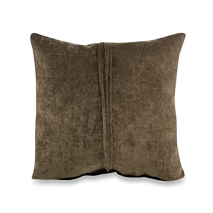 Alternate image 1 for Glenna Jean Echo Velvet Pillow in Brown