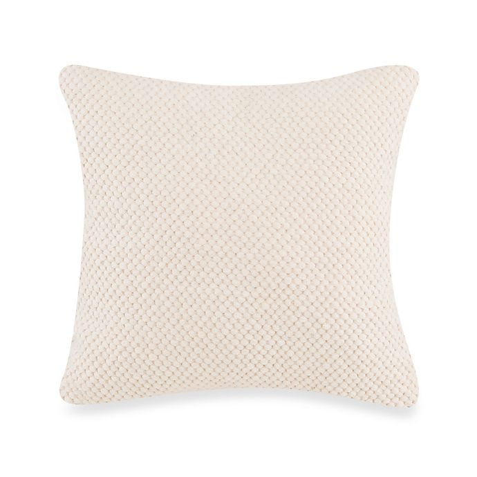 Alternate image 1 for Glenna Jean Echo Texture Pillow in Cream