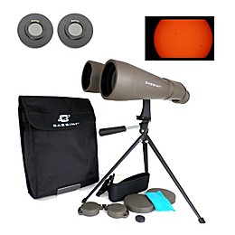 Cassini C-1570SF 70M Astronomical Binoculars with Solar Filter Caps in Grey