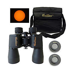 Galileo® G-840WASF Wide Angle Binoculars with Solar Filter Caps in Black