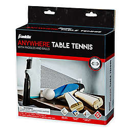 Franklin® Sports 6-Piece Anywhere Table Tennis Set in White/Multi