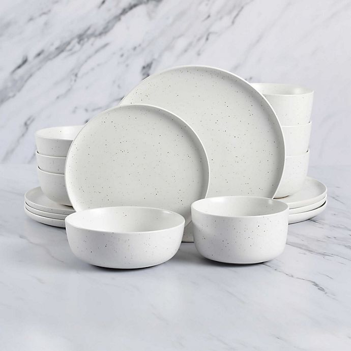 Alternate image 1 for Artisanal Kitchen Supply® Soto Reactive Glaze Dinnerware Collection in Cloud