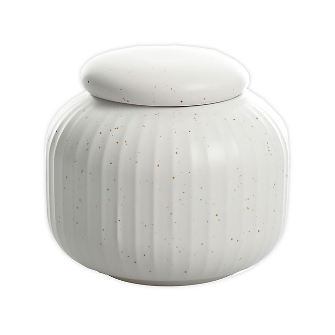 Alternate image 1 for Artisanal Kitchen Supply® Soto Covered Sugar Bowl in Cloud