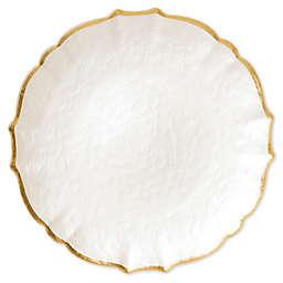 viva by VIETRI Baroque Glass Salad Plate