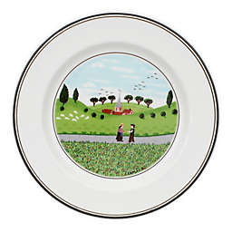 Villeroy & Boch Design Naif Boy and Girl Bread and Butter Plate