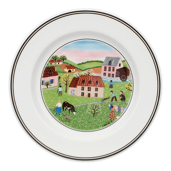 Alternate image 1 for Villeroy & Boch Design Naif Spring Morning Bread and Butter Plate