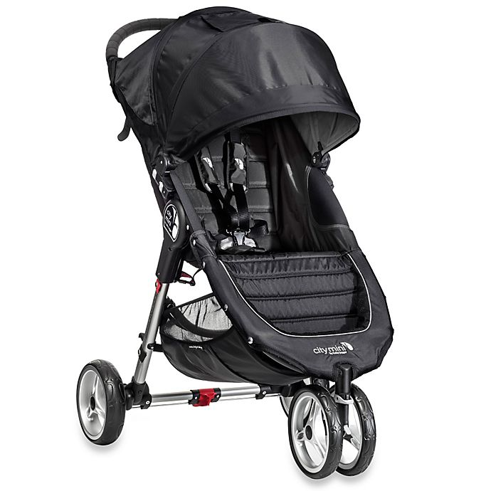 Alternate image 1 for Baby Jogger® City Mini™ Single Stroller in Black/Grey