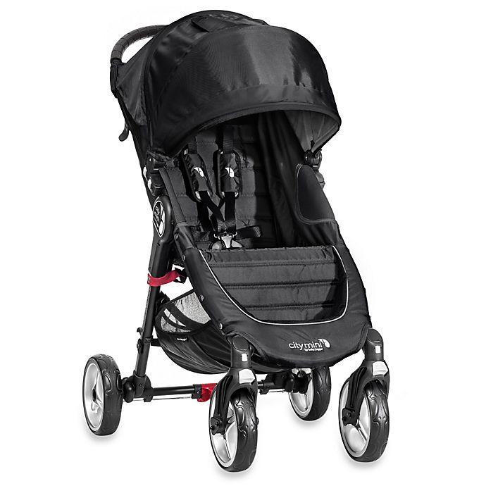 Baby Jogger 174 City Mini Single 4 Wheel Stroller In Black