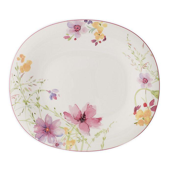 Alternate image 1 for Villeroy & Boch Mariefleur 9.85-Inch Oblong Dinner Plate