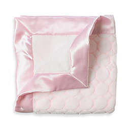 SwaddleDesigns® Stroller Blanket With Pastel Puff Circles in Pink