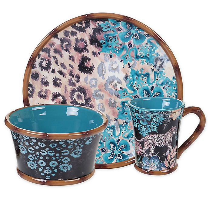 Alternate image 1 for Certified International Exotic Jungle Dinnerware Collection