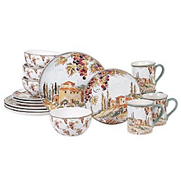 Certified International Tuscan Breeze 16-Piece Dinnerware Set