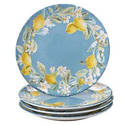 Certified International Citron Dinner Plates (Set of 4)