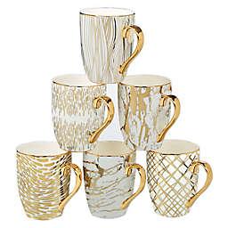Certified International Matrix Mugs (Set of 6)
