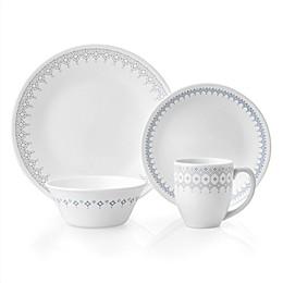 Corelle® Evening Lattice 16-Piece Dinnerware Set