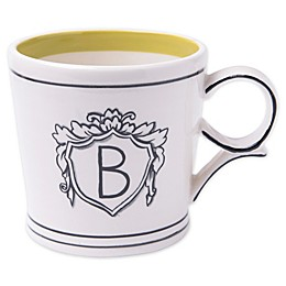 "Home Essentials & Beyond Molly Hatch Monogram Letter ""B"" Mug"