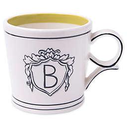"Home Essentials & Beyond Molly Hatch Monogram Letter ""B"" Mug"
