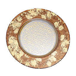 Classic Touch Leopard Charger Plate
