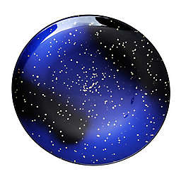 Classic Touch Sparkle Charger Plate in Midnight Blue/Gold