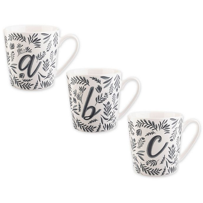 Alternate image 1 for Formations Vine Monogrammed Mug