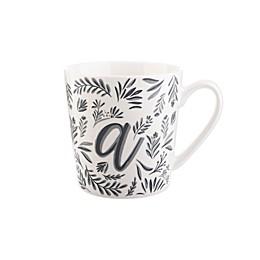 Formations Vine Monogrammed Mug