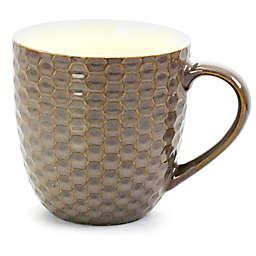 Elama Honeycomb Coffee Mugs in Purple (Set of 6)