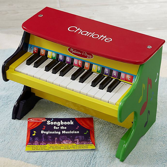 Alternate image 1 for Melissa & Doug® Personalized Learn to Play Piano