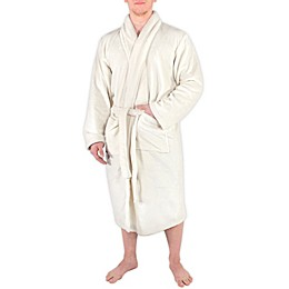 Hudson Home Collection Men and Women Plush Robe
