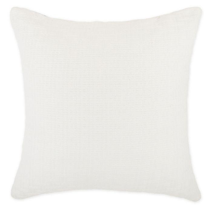 Alternate image 1 for Wamsutta® Dawson Square Throw Pillow in Cream