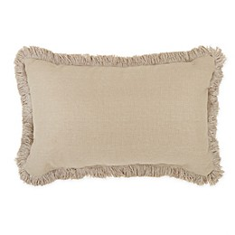 Wamsutta® Dawson Oblong Throw Pillow in Cream