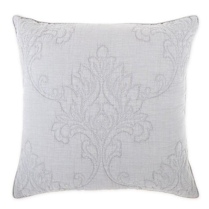 Alternate image 1 for Wamsutta® Knightsbridge Square Throw Pillow in Slate