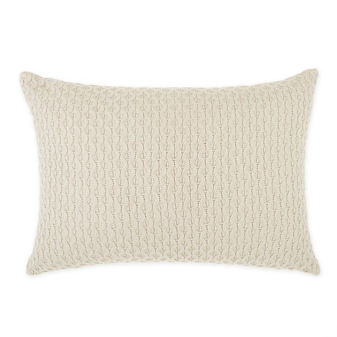 Alternate image 1 for Wamsutta® Knightsbridge Oblong Throw Pillow in Taupe