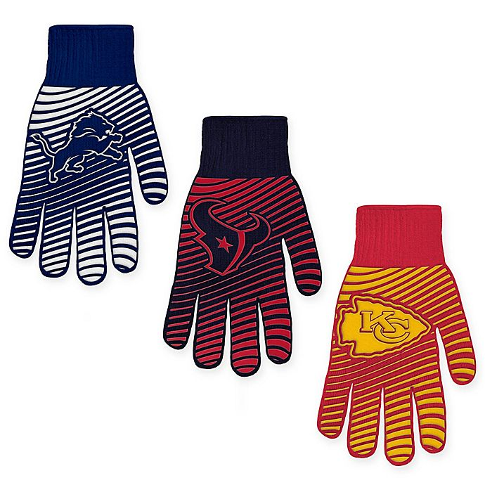 Alternate image 1 for NFL BBQ Glove Collection