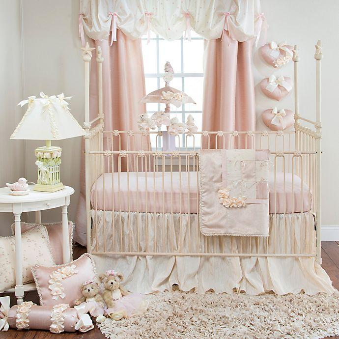 Glenna Jean Ribbons & Roses Crib Bedding Collection