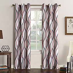 No.918® Intersect Grommet Top Window Curtain Panel