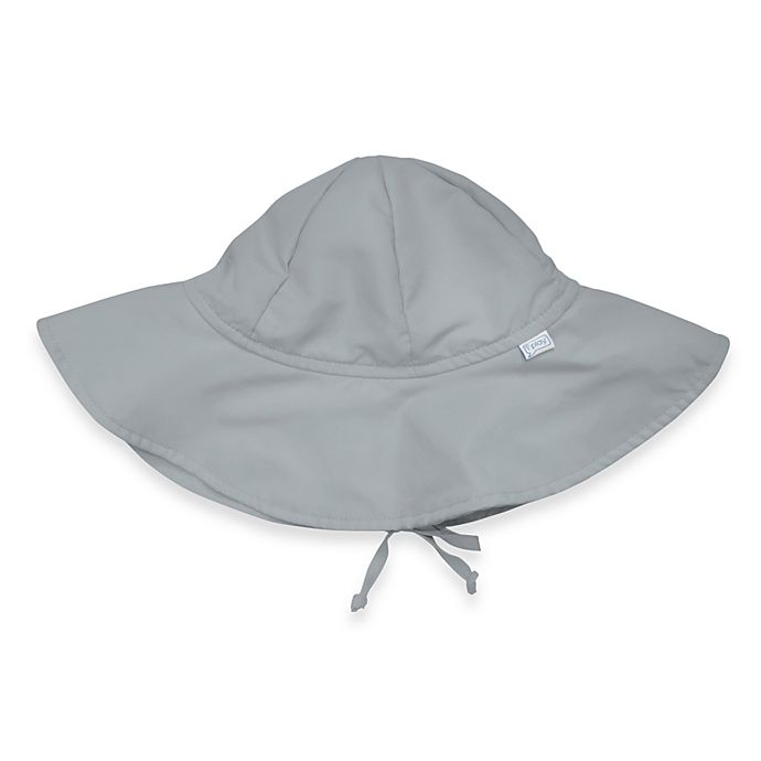 Alternate image 1 for i play. ® Solid Brim Sun Hat in Grey