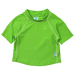 i play.® Short Sleeve Rashguard in Basic Lime
