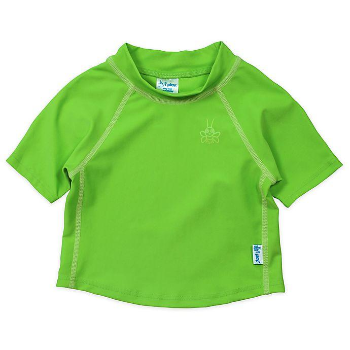 Alternate image 1 for i play.® Short Sleeve Rashguard in Basic Lime