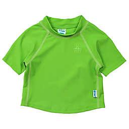 i play.® Short Sleeve Rashguard in Basic Lime