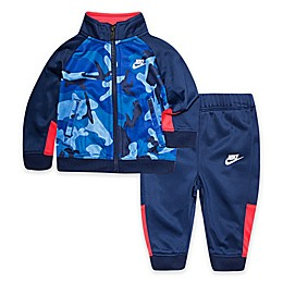 Nike® 2-Piece Camo Tricot Tracksuit in Blue