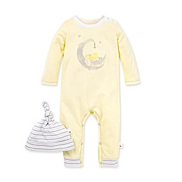 Burt's Bees Baby® 2-Piece Lamb in the Moon Organic Cotton Jumpsuit and Hat Set