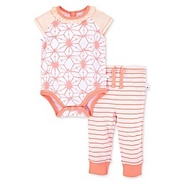 Burt's Bees Baby® 2-Piece Tie Dye Star Organic Cotton Bodysuit and Pant Set