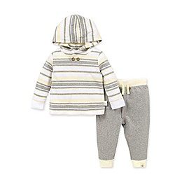 Burt's Bees Baby® 2-Piece Garden Stripe Organic Cotton Hoodie and Pant Set
