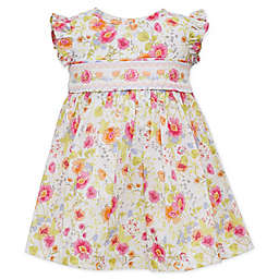Bonnie Baby Floral Smocked Dress